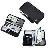 Reisepass Tasche Familie Reiseorganizer Reisedokumententasche   RFID-Blocker Pass Etui Passport...