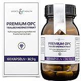 OPC Kapseln Hochdosiert - Premium OPC Aus Frankreich - 60 Vegane Kapseln - Ohne Magnesiumstearat -...