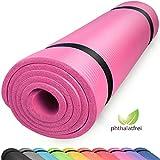 diMio Komfort-Gymnastikmatte Yogamatte in 185x60x1cm, 185x60x1.5cm, 185x90x1.5cm, 200x100x2 mit...