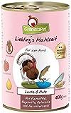 GranataPet Lieblingsmahlzeit Lachs & Pute 6 x 400g Lachs & Pute