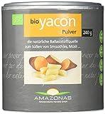 Amazonas Naturprodukte Bio Yacon Pulver Aus Peru, 100 % Naturbelassen, Einzigartiges Präbiotika...