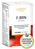 Sanhelios F-BRN Kapseln | Grüner Tee, Grüner Kaffee, Guarana, Schwarzer Pfeffer, Mineralstoffe und...