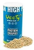 Veety Vegan Erbsen Protein Crispies -Neutral | 63% Protein | Sojafrei und Zuckerfrei | Made in...