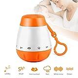 Einschlafhilfe Baby Und Kleinkind mit 6 Beruhigender Geräuschen- White Noise Machine Als...