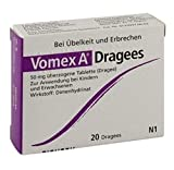 Vomex A Dragees Sparpackung 3x20 Dragees plus Handcreme von Pharmaverde gratis