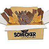 Schecker PUR 8 x 100g Kaustreifen Paket - je Sorte von nur Einer einzigen Tierart - Sauber, leicht...