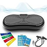 Bluefin Fitness Ultraflache Vibrationsplatte mit Leisem 1000-Watt Motor   LCD Display & Bluetooth...