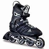 K2 Herren Inline Skates F.I.T. 80 - Schwarz-Grau - EU: 39.5 (US: 7 - UK: 6) - 30A0003.1.1.070