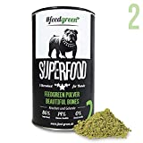 Feedgreen Superfood für Hunde Nahrungsergänzung 150g Knochen und Gelenke (Beautiful Bones Nr. 2)